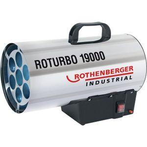 RADIATEUR D'APPOINT ROTHENBERGER Générateur d'air chaud - Roturbo 1900