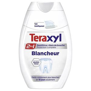 DENTIFRICE Teraxyl Dentifrice 2en1 Blancheur 75ml (lot de 4)
