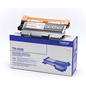 TONER Brother TN-2220 Toner Laser Noir (2600 pages) x1