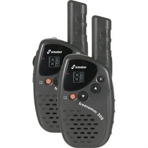 INTERCOM MOTO PRESIDENT Paire de Talkie-walkies Freecomm 200