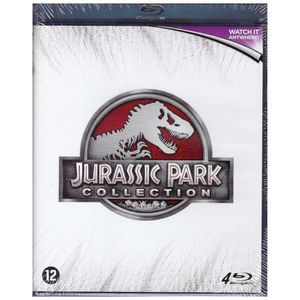 BLU-RAY FILM Jurassic Park Collection - Integrale des 4 Films (