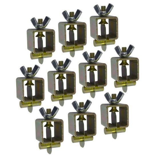 lot de 10 attaches métalliques Intergrips Fiche Technique colliers de soudure