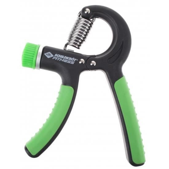 réglable squeeze haltère 10/30 kg vert / noir