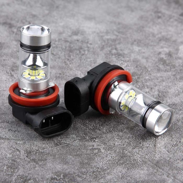 EBTOOLS 2 PCS H8 H9 H11 6000 K LED Ampoule Super Blanc 100 W CREE Source Haute Puissance LED Ampoules Phares Kit Feux De Brouillard