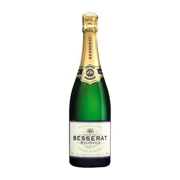 6x Besserat Brut Grande Tradition - Champagne AOC