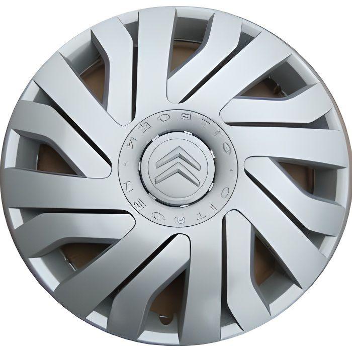 Enjoliveurs de roues CITROEN C1 14 Kit de 4 pieces