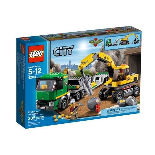 LEGO CITY - 4203 - JEU DE CONSTRUCTION - LE TRA…