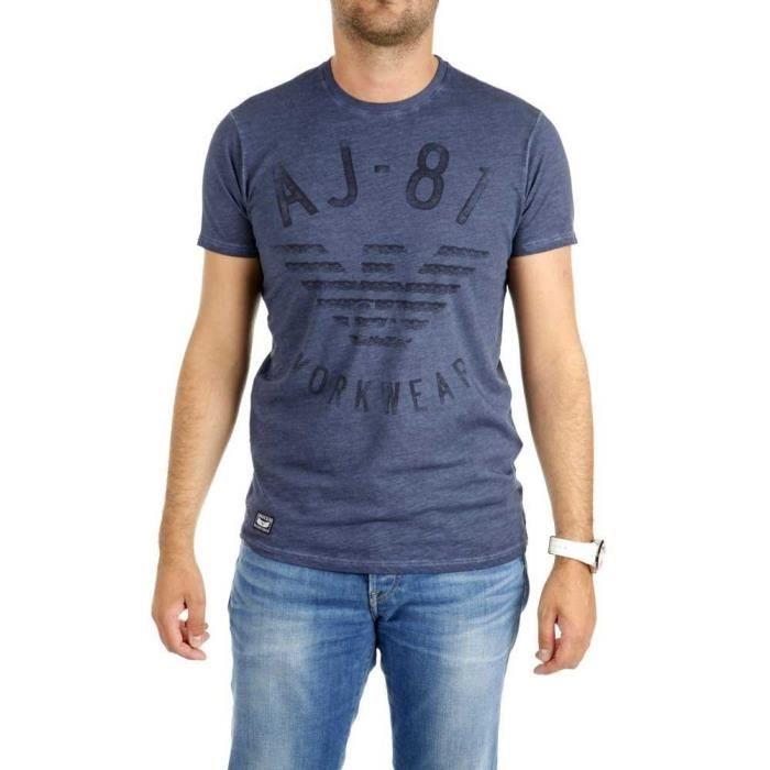 Vêtements Homme T-Shirts Armani Jeans B6h12-mm