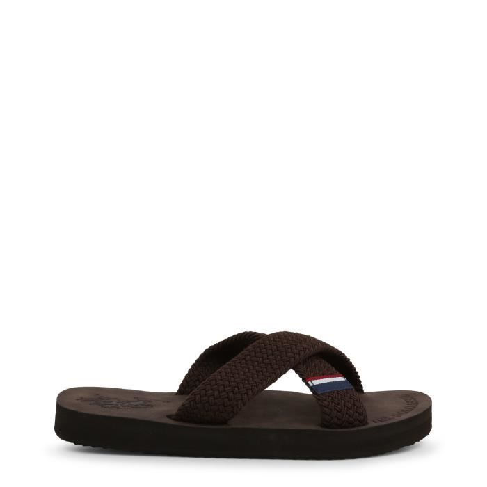 U.S. Polo - Nu-pieds et Tongs pour homme (EGADI4134S9_T2_DKBR) - Brun
