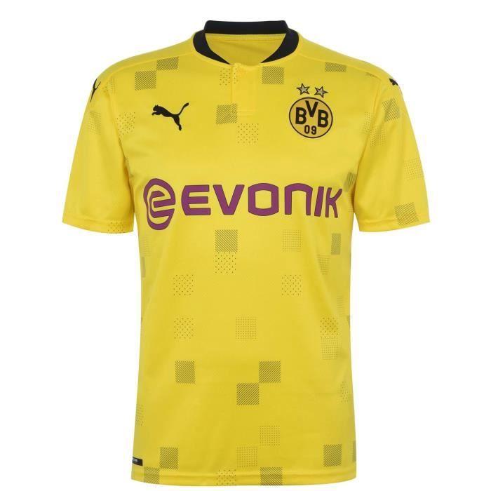 Puma Borussia Dortmund Cup Maillot De Football 2020 2021 Hommes