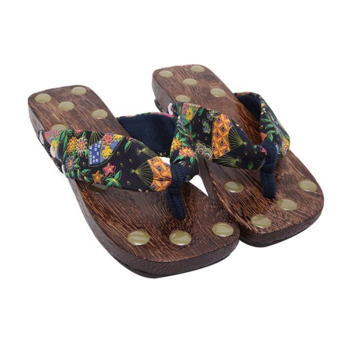 Femmes créatives sabots de massage plate-forme d'été sandales tongs pantoufles VELO DE VILLE - BEACH CRUISER - VELO HOLLANDAIS