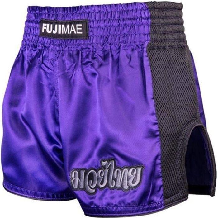 Short boxe thai violet
