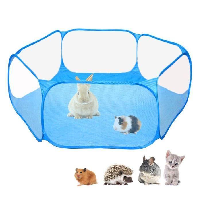 Clôture pour animaux de compagnie portable ouvert intérieur populaire en plein air petit animal cage tente aire clôture jeu hamster