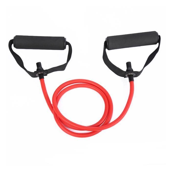 1PC résistance élastique Durable pratique exercice bande tirer corde extenseur pour Yoga musculation BARRE - HALTERE - POIDS