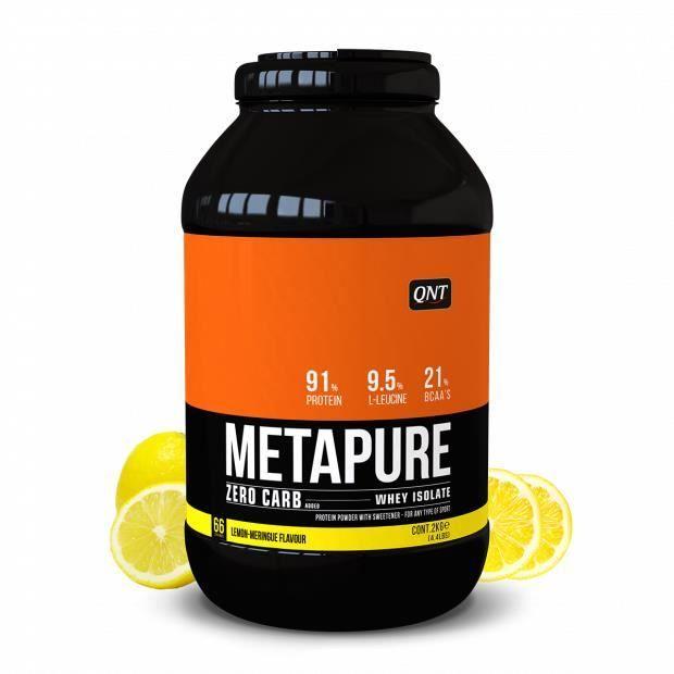 Metapure Whey Protein Isolate Citron / Meringue 2 kg