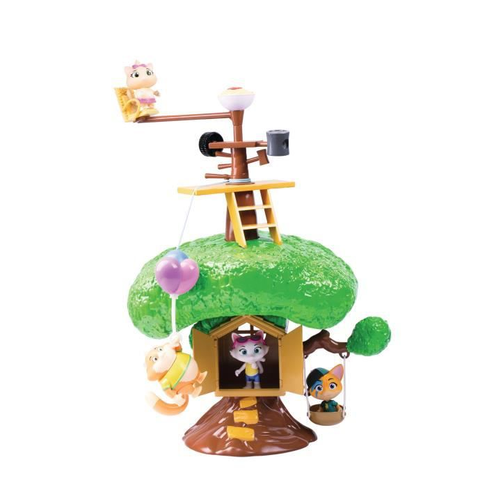 Grand Playset Maison Arbre 44CATS - SMOBY