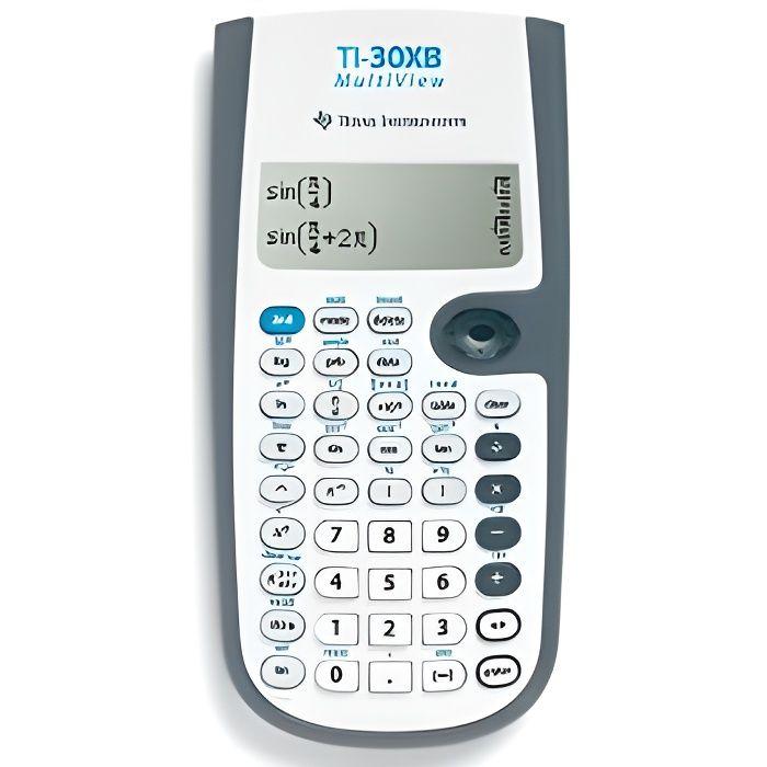 Calculatrice TI-30X Multiview