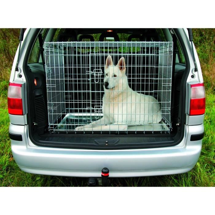 TRIXIE Cage de transport pour chien 64 × 54 × 48 cm