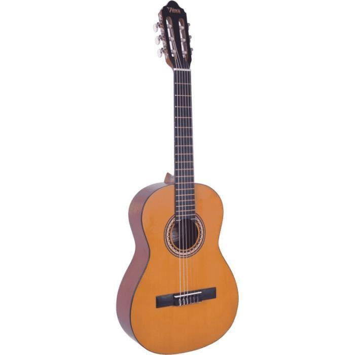 Valencia VC203 - Guitare classique 3/4 - Naturel Vintage