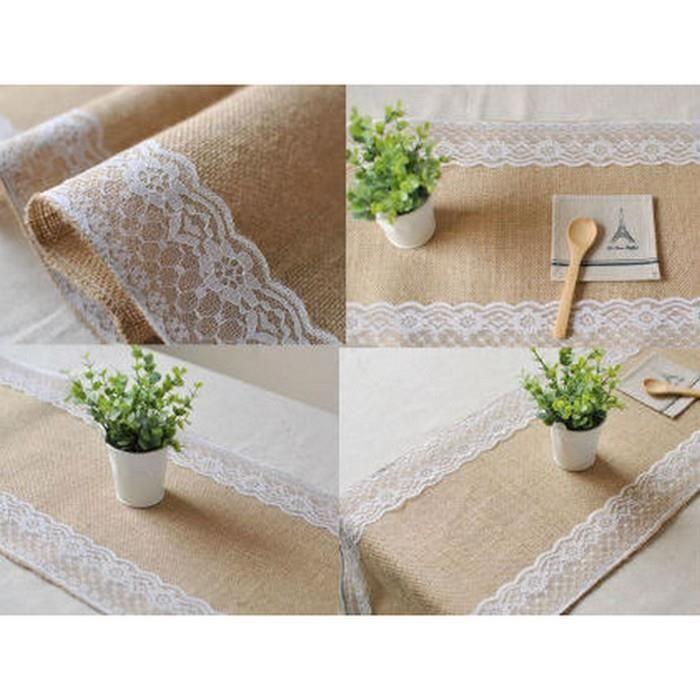 Decoration De Table Champetre Achat Vente Pas Cher