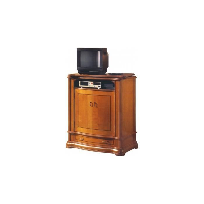 meuble tv bar 2 portes 1 tiroir achat vente meuble tv meuble tv bar 2 portes 1 ti cdiscount. Black Bedroom Furniture Sets. Home Design Ideas