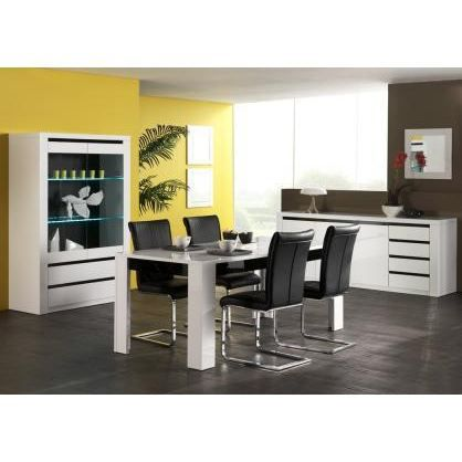 Salle manger design compl te amandine ii achat vente for Achat salle a manger complete