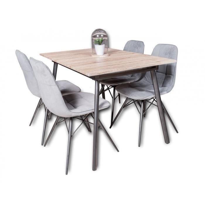 Table 4 Chaises 1 Rallonge Calvi Achat Vente Table A