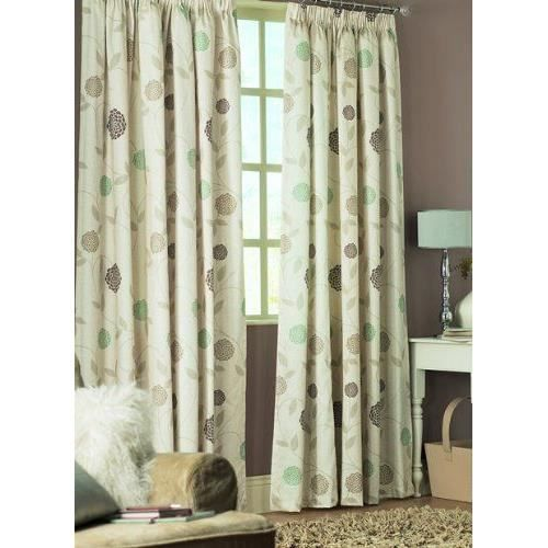 dreams 39 n 39 drapes rosemont double rideau ourlet 8 cm 168 x 228 cm naturel achat vente. Black Bedroom Furniture Sets. Home Design Ideas