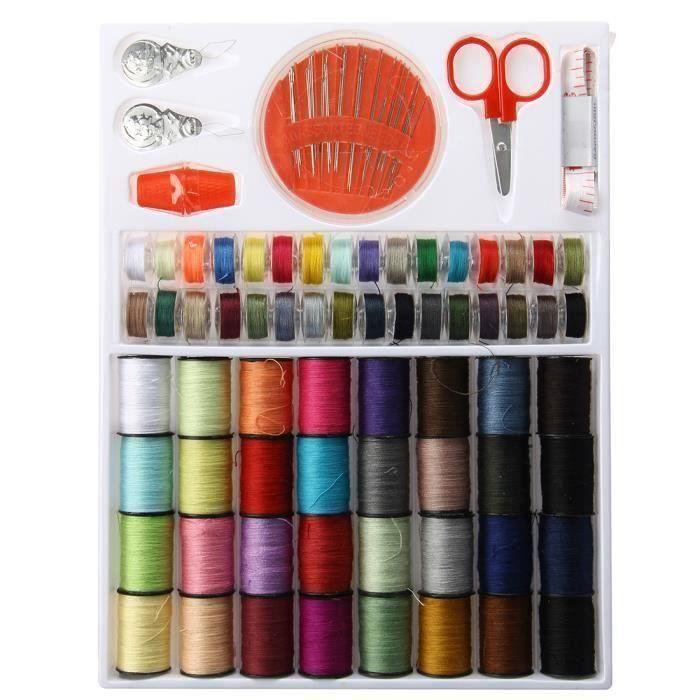 Fil de nylon 3pcs set aiguilles à tricoter fil aiguilles à coudre laine ép OPF