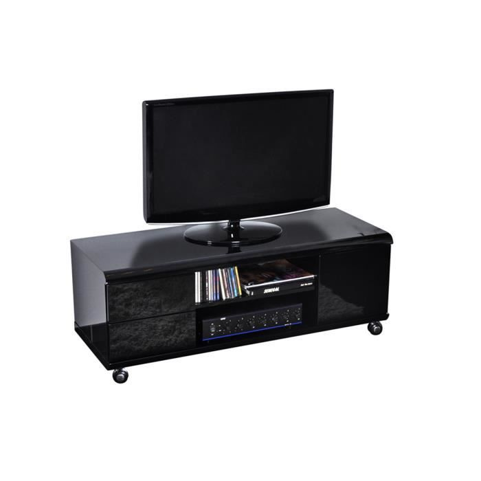 meubles tv a roulettes maison design. Black Bedroom Furniture Sets. Home Design Ideas
