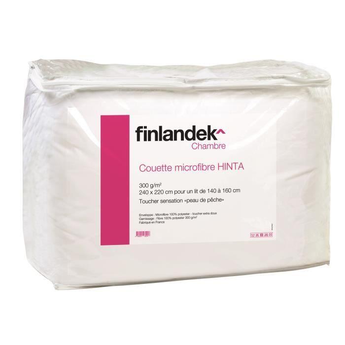 COUETTE FINLANDEK Couette tempérée microfibre HINTA 220x24