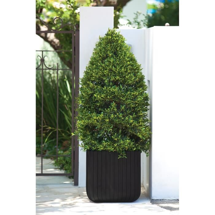 Cube planter cache pot grand format 50 5 litres aspect for Grand pot plante exterieur