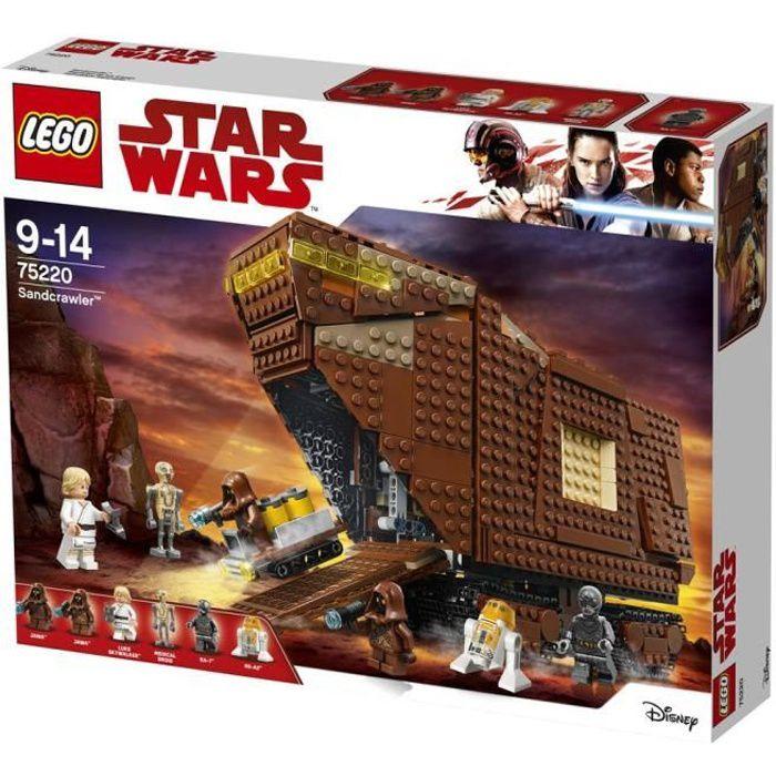 ASSEMBLAGE CONSTRUCTION LEGO® Star Wars™ 75220 Sandcrawler™