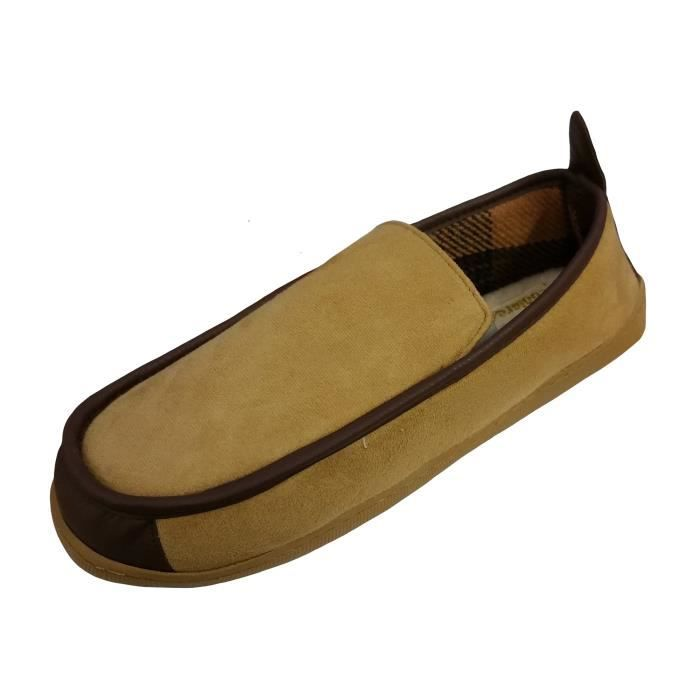 Coolers Chaussons Microsuede Doublure en Polair... d78sqOMy