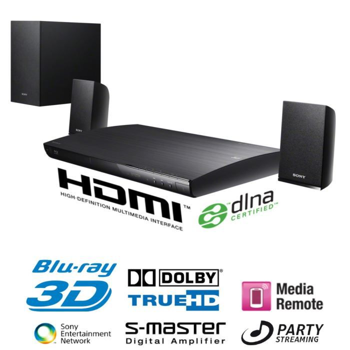sony bdv ef220 home cin ma 2 1 blu ray 3d ensemble home cin ma avis et prix pas cher cdiscount. Black Bedroom Furniture Sets. Home Design Ideas