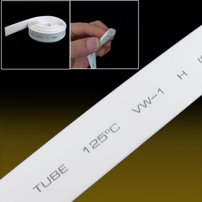 10 m 4 mm Dia Ratio 2:1 chaleur r/étractable de recul Noir