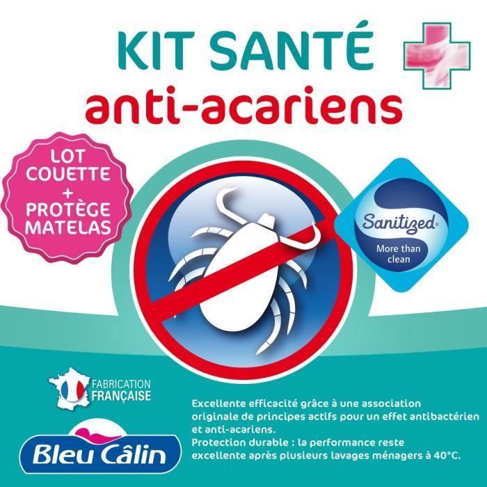 COUETTE BLEU CALIN Lot de 1 couette chaude Anti-Acariens 2