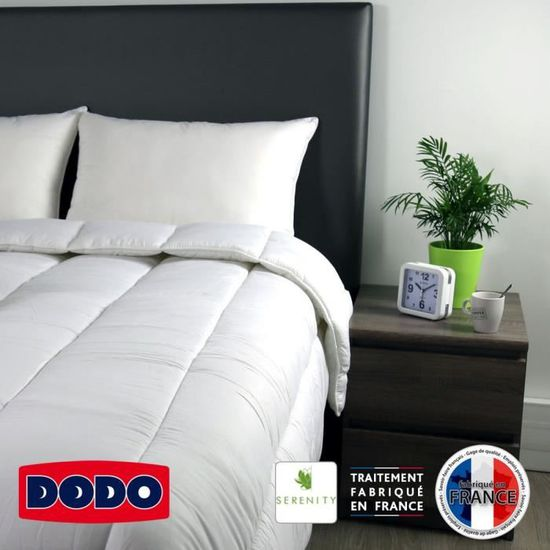 Dodo Couette Chaude 400gr M Serenity 220x240 Cm Blanc Achat