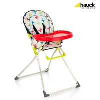 HAUCK Chaise Haute Mac Baby In Cross Mixte