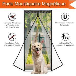 MOUSTIQUAIRE OUVERTURE AST Rideau de Porte magnétique/Moustiquaire porte