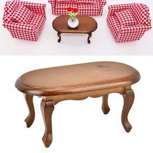 MAISON POUPÉE Enfant Cadeau Miniature Table basse Maison Poupées