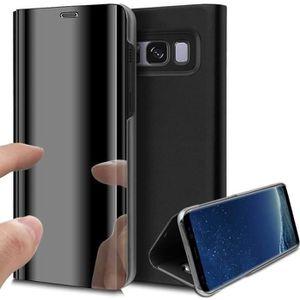 HOUSSE - ÉTUI Coque Galaxy S8 Plus,Miroir Antichoc Etui Housse C