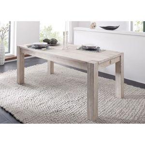 TABLE À MANGER SEULE Table à manger rectangulaire 220x100 cm, 8 à 10 Pe
