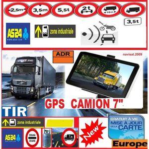 PACK GPS AUTO GPS ROCKSTARS 7 Pouces HD POIDS LOURD CAMION Bus C