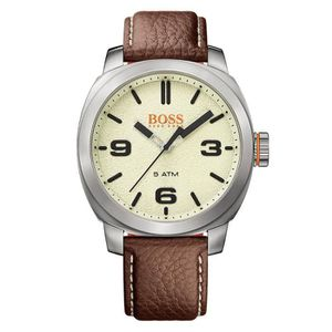 MONTRE Montre BOSS ORANGE Cuir