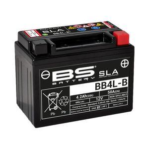 BATTERIE VÉHICULE Batterie BS BATTERY BB4L-B SLA sans entretien acti