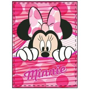 COUVERTURE - PLAID Minnie Plaid Couverture Polaire Disney