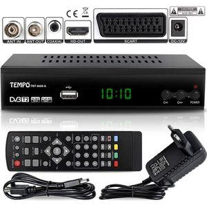 RÉCEPTEUR - DÉCODEUR   Décodeur TNT terrestre HD H.265 Nouvelle norme ! H