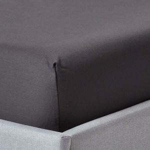 DRAP HOUSSE Drap-housse uni 140 x 190 cm 100 % coton égyptien