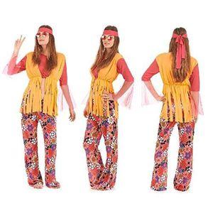 ACCESSOIRE DÉGUISEMENT Costume Deguisement Hippie Femme - Fete - Hallowee
